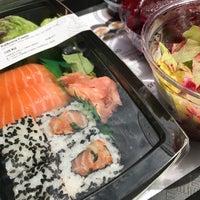 Photo taken at Sushi Time by Pedro O. on 6/6/2017