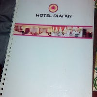 Photo taken at Hotel Diafan by Turino D. on 12/26/2013