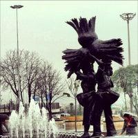 1/27/2013 tarihinde Fatih Ö.ziyaretçi tarafından Atatürk Meydanı'de çekilen fotoğraf
