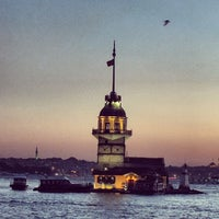 Photo taken at Maiden's Tower by Fatih Ö. on 7/13/2013