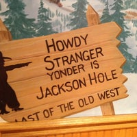 Photo taken at Mangy Moose Restaurant and Saloon by Mary T. on 1/26/2013