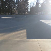 Photo taken at Sunnyvale Skate Park by Ranger W. on 2/17/2015