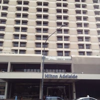 Photo taken at Hilton Adelaide by Miss L. on 5/4/2013