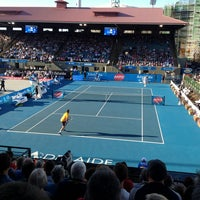 Photo taken at Memorial Drive Tennis Centre by Miss L. on 1/9/2013