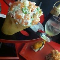 Photo taken at Mr. Miyagi Sushi Bar by Luan A. on 11/4/2012