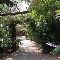 Photo taken at Casa de Luz by Raul C. on 3/7/2013