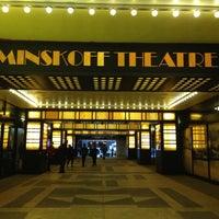 Снимок сделан в Minskoff Theatre пользователем Tina L. 1/2/2013