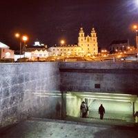 Снимок сделан в Станция метро «Немига» пользователем Максим П. 3/24/2013