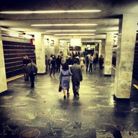 Снимок сделан в Станция метро «Немига» пользователем Максим П. 9/16/2012
