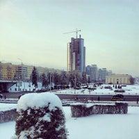 Снимок сделан в Станция метро «Немига» пользователем Максим П. 1/14/2013