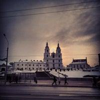 Снимок сделан в Станция метро «Немига» пользователем Максим П. 2/23/2013