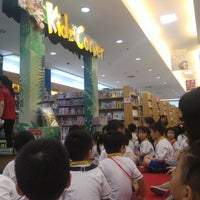 Photo taken at Gramedia Expo by Mery Y. on 10/29/2015