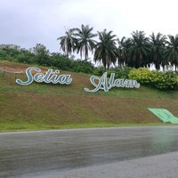 Photo taken at Setia Alam Eco Park by Masz L. on 7/9/2017