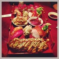Photo taken at Thai Hana Restaurant & Sushi Bar by W. Chris on 2/5/2013