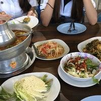Photo taken at ร่มไม้ริมนา by Belt T. on 4/3/2017