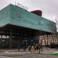 Photo taken at Peckham Library by Paul W. on 1/4/2014