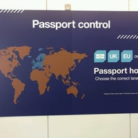 Photo taken at Security/Passport Control - T3 by Paul W. on 2/27/2017