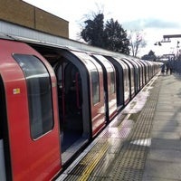 Photo taken at South Woodford London Underground Station by Paul W. on 1/19/2014