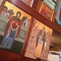 Photo taken at St Demetrios Greek Orthodox Church by Aggelli B. on 1/24/2013