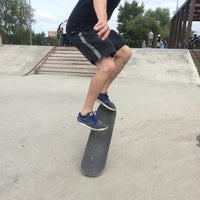 Das Foto wurde bei Скейт-парк «Садовники» von Kate M. am 8/13/2016 aufgenommen