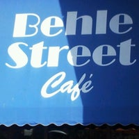 Photo taken at Behle Street Cafe by Christine H. on 9/29/2012