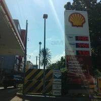 Photo taken at SPBU Shell by Satya W. on 6/19/2017