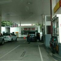 Photo taken at Shell Gas Station TB Simatupang by Satya W. on 9/6/2016