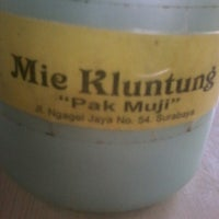"Photo taken at Mie Kluntung/Nasi Goreng Jawa ""Pak Muji"" by Dhiana O. on 5/17/2013"