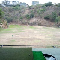 Photo taken at La Cinta Golf driving range by Juan G. on 3/30/2014