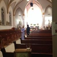 Photo taken at Sacred Heart Catholic Church by Mark B. on 11/23/2013