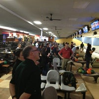 Photo taken at AMF Southshore Lanes by Mark B. on 1/16/2013