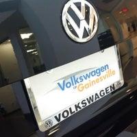 Photo taken at Volkswagen Gainesville by Brett M. on 1/23/2015