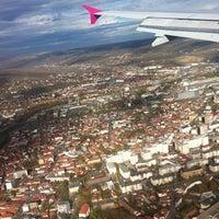 "Photo taken at Cluj-Napoca ""Avram Iancu"" International Airport (CLJ) by Irina C. on 11/5/2012"