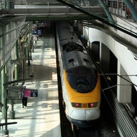 Photo taken at Lille Europe Railway Station by Laurent B. on 9/22/2012