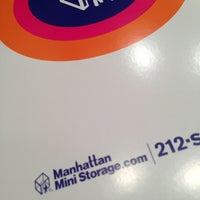 Photo taken at Manhattan Mini  Storage - South St by Greg M. on 8/12/2013