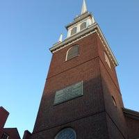 Photo prise au The Old North Church par DJ F. le11/10/2012