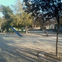 Photo taken at Parque Violeta Parra by Felipe D. on 9/26/2012
