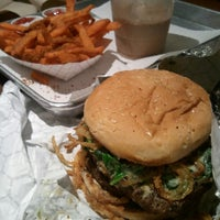 Photo taken at Black Shack Burger by Tom W. on 2/23/2013