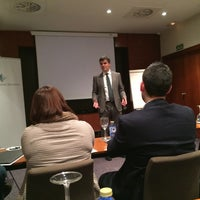 Photo taken at AC Hotel Lleida by Marriott by Ramon T. on 2/12/2015