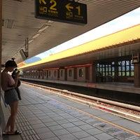 Photo taken at 捷運忠義站 MRT Zhongyi Station by Nike L. on 7/30/2017