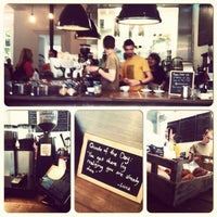 Photo taken at The Coffeeworks Project by Adeline T. on 6/21/2013