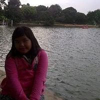 Photo taken at Situ Sawangan by liana f. on 12/29/2013