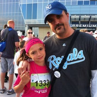 Photo taken at Girls On The Run 5k at Sporting KC by Timothy E. on 5/18/2013