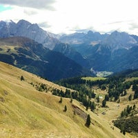 Photo taken at Rifugio Passo Sella by Haruya N. on 9/20/2015