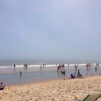 Photo taken at Ocean City Beach by Kafu on 7/4/2013