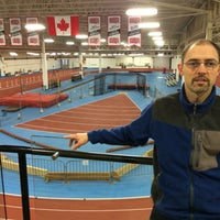 Photo taken at Toronto Track & Field Center by Terry J. on 1/25/2015