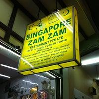 Photo taken at Singapore Zam Zam Restaurant by Azfarr B. on 8/13/2013