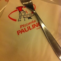 Photo taken at Pizzaria Paulino by Fabiana A. on 8/4/2014