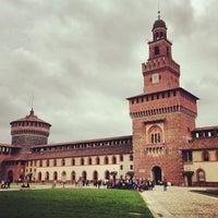 Foto scattata a Castello Sforzesco da Олег Н. il 4/30/2013