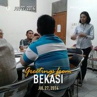 Photo taken at Gereja Kristen Jawa Bekasi by ariadi on 7/27/2014